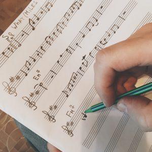переписывайте ноты